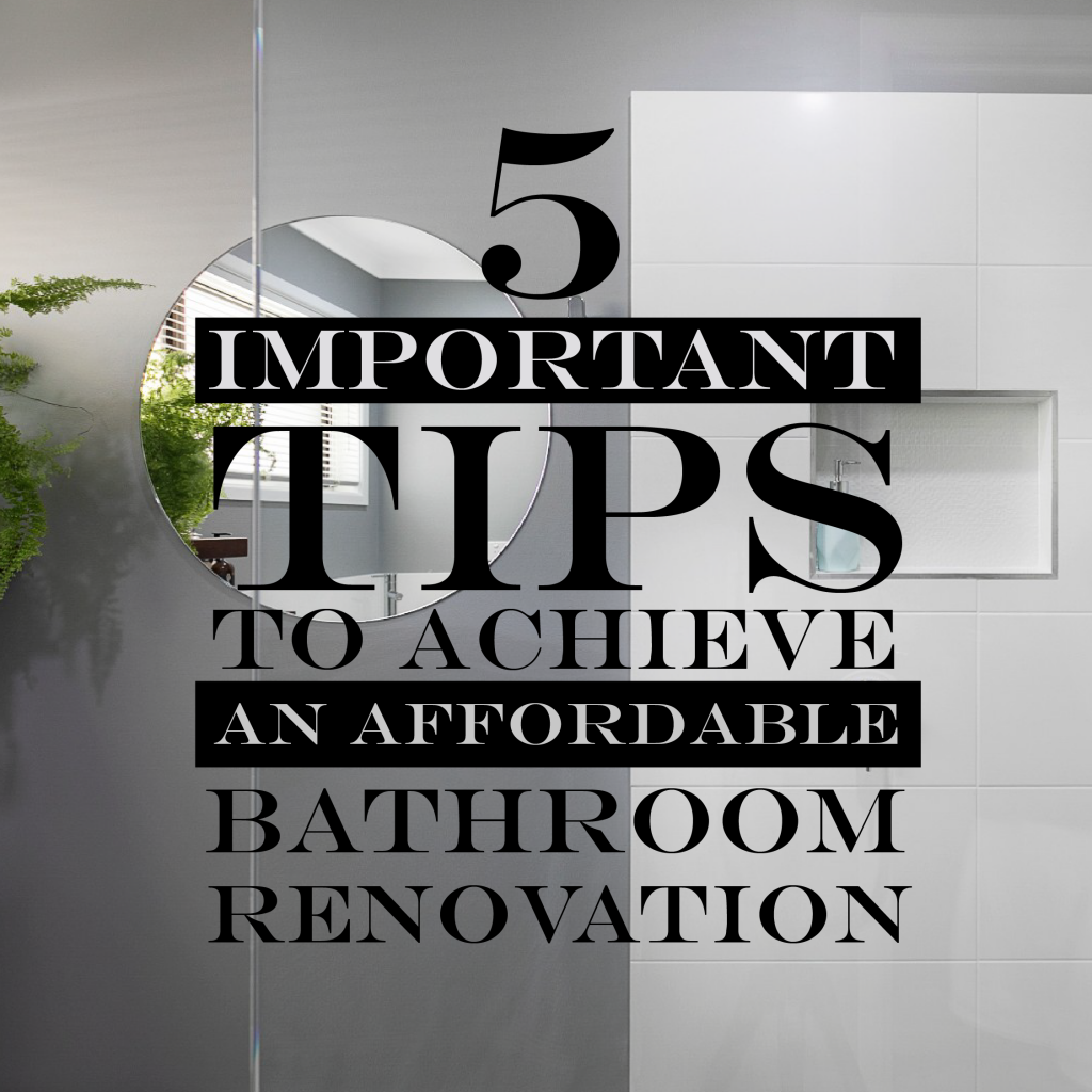 Bathroom Tips 01